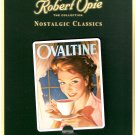 Ovaltine Advertisement Robert Opie Collectible Tin Metal Fridge Magnet