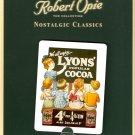 We All Enjoy Lyons Popular Cocoa Robert Opie Collectible Tin Metal Fridge Magnet