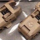 Magpul MBUS Back Up Front and Rear Flip Sight #MBUS-1 (Dark Earth)