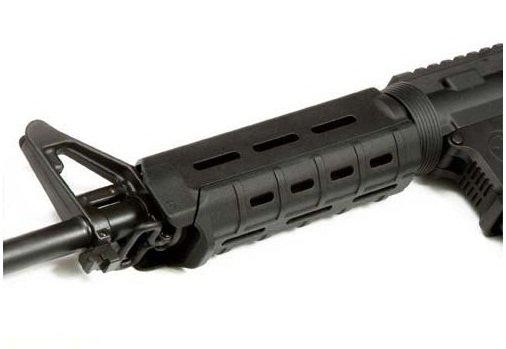 Magpul MOE Handguard Quad Rail System Carbine Length 7 inch for Airsoft (Black)