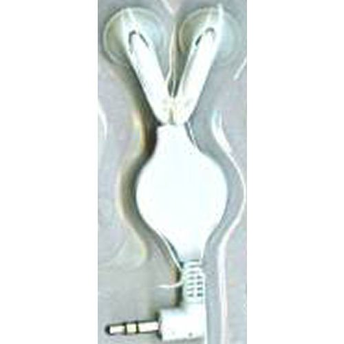 myTunes retractable earphones - White