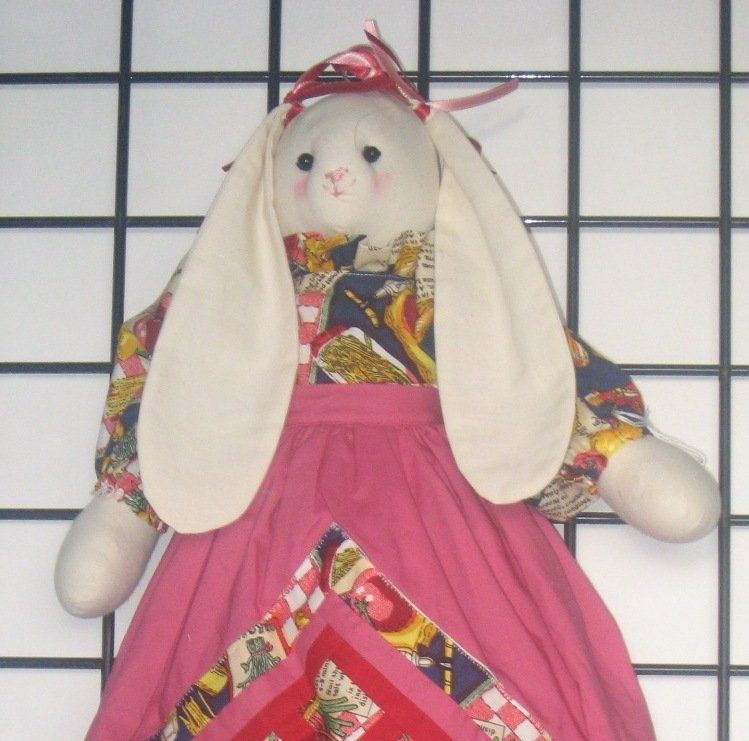 Bunny Plastic  or Grocery Bag Holder