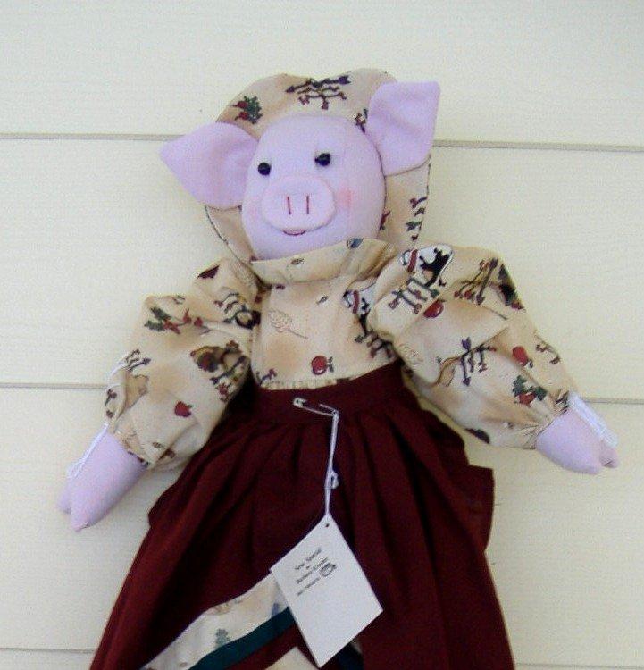 Pig Plastic or Grocery Bag Holder
