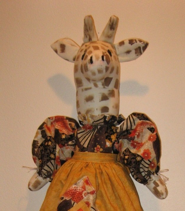Giraffe Plastic or Grocery Bag Holder