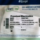 1 New Factory Sealed Pack Empi Stimcare Premium Electrodes