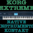 KORG EXTREME SAMPLES for KONTAKT NATIVE NKI 12 DVD 45GB