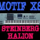 MOTIF XS SAMPLES STEINBERG HALION CUBASE FXP 6 DVD 23GB