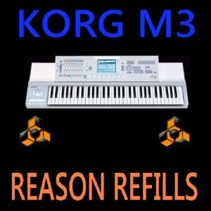 KORG M3 SAMPLES - REASON NN-XT REFILLS 10 DVD 35GB