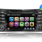 "7"" Touchscreen DVD Player with GPS Navigation and BT iPod FM PIP RDS for Benz E-Class"