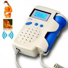 Fetal Doppler with LCD - FDA and CE Approved Baby Heart Rate Monitor (Angelsounds Pro)