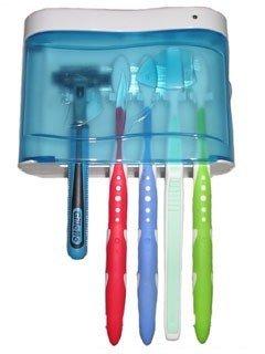 UV-C Light Family Toothbrush Sanitizer by SuperFresh