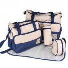 Multi Functional Baby Diaper Bag Set by BabySafe