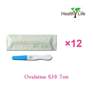 One-Cycle Home LH Ovulation Test Midstream 12 Pack