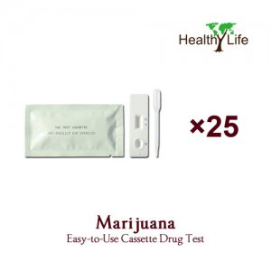 THC Marijuana Test Cassette - 25 Pack (Home Use Urine Tests)