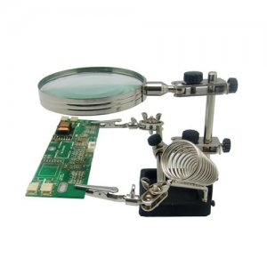5x Helping Hand Desk Magnifying Glass w/ Stand Soldering Work Station