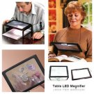 Tabletop LED Magnifier with Legs and LED Light