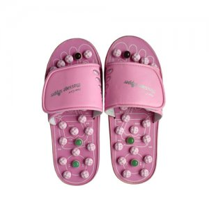 Foot Care Massage Sandals with Acupressure Points (Pink)