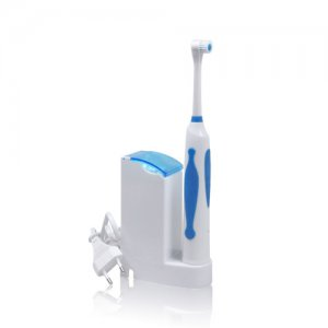Ultrasonic Electric Toothbrush with Recharging Base by SuperFresh