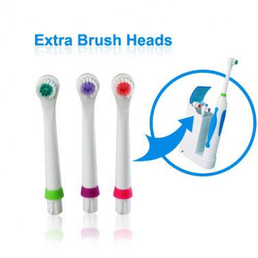 Extra Brush Heads for Ultrasonic Electric Toothbrushes (15 Pack)