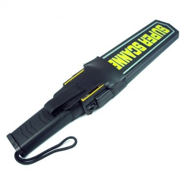 Handheld Metal Detector - Super Sensitive Wand Style Scanner