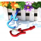 Metal Carabiner Keychains - Guitar Style (12 Pieces)