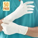 Powdered Sterile Latex Surgical Gloves (50 Pair) - Size 6.5