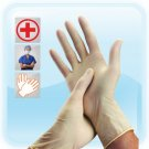 Powdered Latex Gloves for Medical Use, Bulk Wholesale Box of 100 Pair (Size = Small)