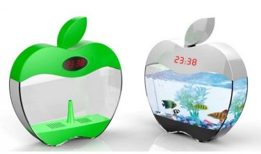 Desktop USB Aquarium - Decorative Mini Fish Tank