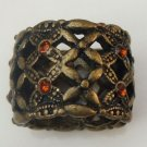 Size 6.0 Antique Brass Fillagree Ring