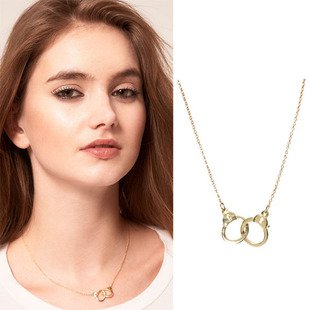 SALE! Elegant Gold Handcuff Necklace