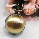 Antiqued Brass Vintage Style  Drawing Process Pocket Watch Necklace