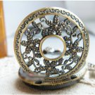 Antiqued Brass Vintage Style Necklace Classic Starfish Pocket Watch Necklac