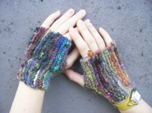 Fingerless Secretary Mitts - Made to Order