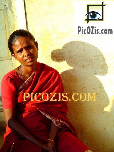 """VPE005201109 - Indian woman - 20x30cm (8x12"""")"""