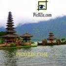 """VLA005201109 - Bali Temple - 20x30cm (8x12"""")"""
