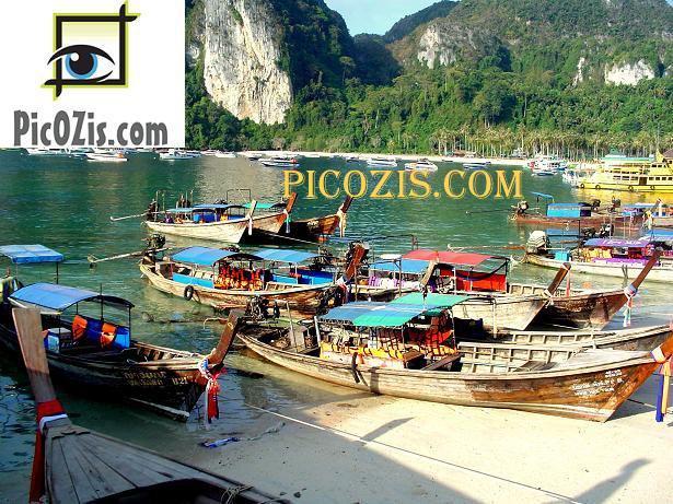 "VLA006201109 - Thailand beautiful beach - 28x35cm (11x14"")"
