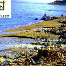 "BSE002201109 - Beachside - the Dead sea - 28x35cm (11x14"")"