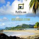 """VLA008201109 - Carribeans Landscape - 20x30cm (8x12"""")"""