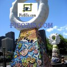 "VST002201109 - Statue in Melbourne - 15x20cm (6x8"")"