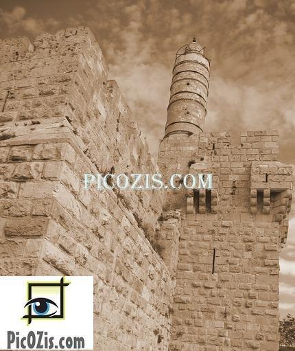 """VBW004201109 - David Tower - 28x35cm (11x14"""")"""