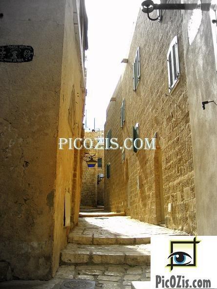 VCI007201109 � Jaffa�s streets photograph print � 28x35cm (11x14�)