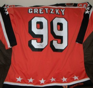 Wayne Gretzky autographed Campbell Jersey
