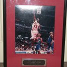 Michael Jordan autographed LE 16x20 photo framed