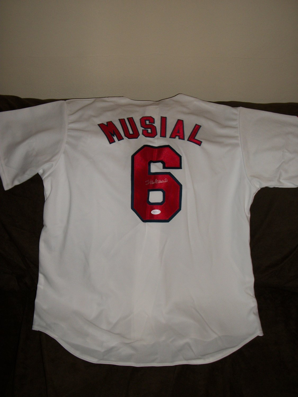 Stan Musial autographed brand new Cardinals Jersey-JSA