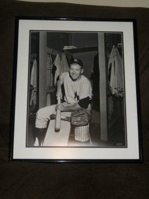"Mickey Mantle 16x20 photo-""Shaving Bat"" UDA"