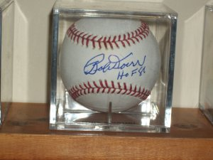 Bobby Doerr autographed baseball