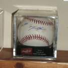 David Price autographed baseball with #1 Pick inscription