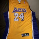 Kobe Bryant autographed authentic Lakers Gold Away Jersey