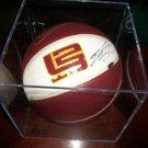 Lebron James autographed basketball UDA