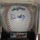 Don Mattingly autographed baseball